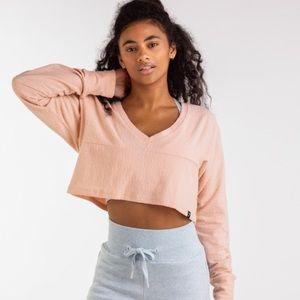 Gymshark Towel Sweater Blush